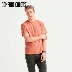 COMFORT COLORS 1717 Adult 6.1oz Ringspun Garment-Dyed T-Shirt (US Size)