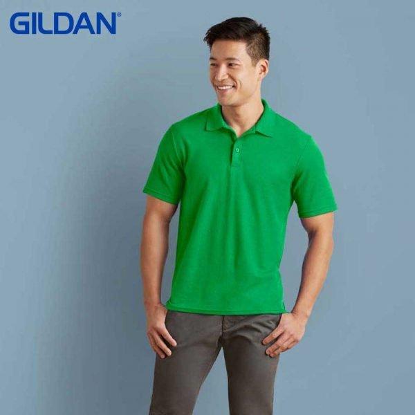 Gildan 73800 Adult Blended Ring Spun DP Polo Shirt