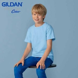 Gildan 76000B Premium Cotton Youth Ringspun T-Shirt