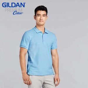Gildan 83800 Adult Ring Spun DP Polo Shirt