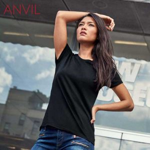 ANVIL 880L Ladies Lightweight Combed Ring Spun T-Shirt