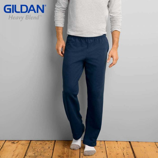 Gildan 88400 HEAVY BLEND Adult Open Bottom Sweatpants