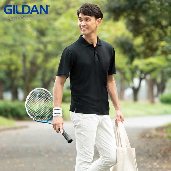 Gildan P4BI00 Adult Performance 4.6oz Mesh Polo Shirt