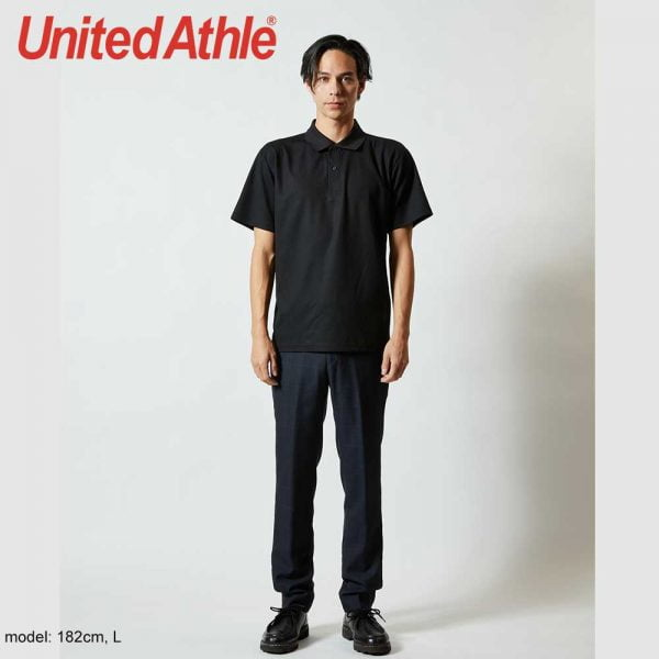 United Athle 2020-01 4.7oz High Performance Dry-Fit Polo Shirt