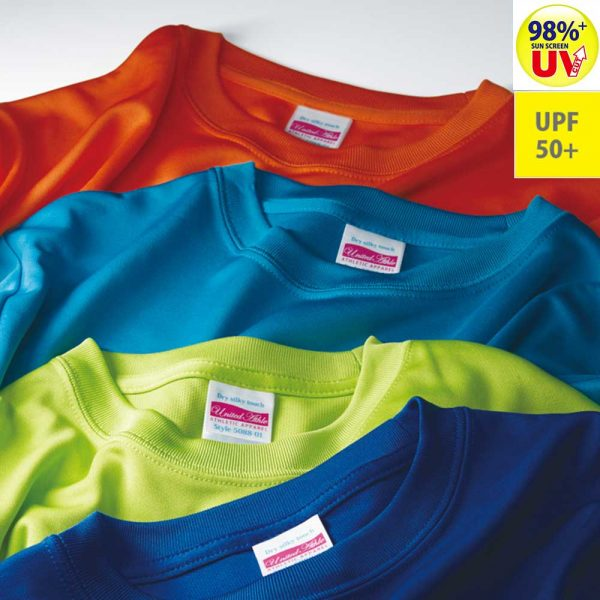United Athle 5088-01 Dry silky touch T-shirt