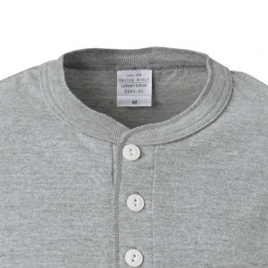 United Athle 5.6oz Adult Cotton Henry Collar T-shirt