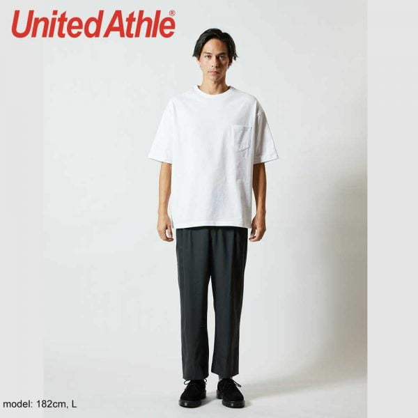 United Athle 5.6oz Adult Cotton Oversized T-shirt
