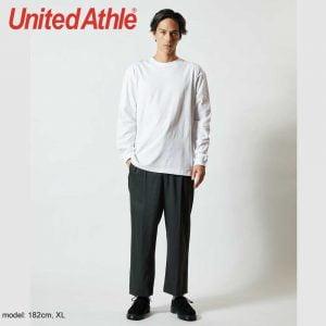 United Athle 5011-01 5.6oz Long Sleeve Cotton Tee