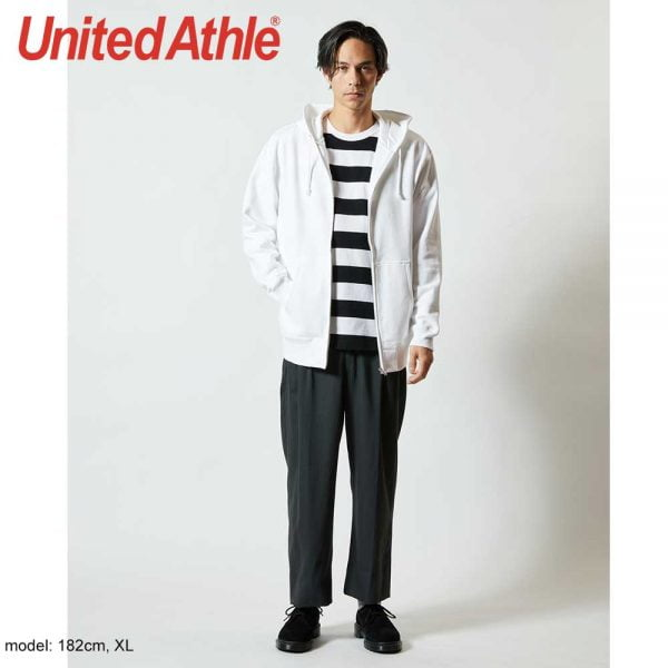 United Athle 5213 10.0oz Cotton French Terry Full Zip Hoodie