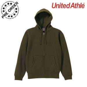 United Athle  5620-01 10.0 oz Full Zip Hoodie