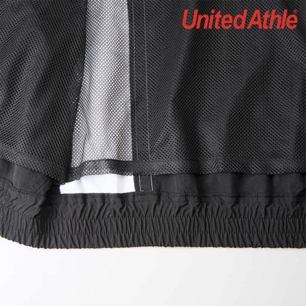 United Athle 7210-01 Nylon Waterproof Jacket with Mesh Lining