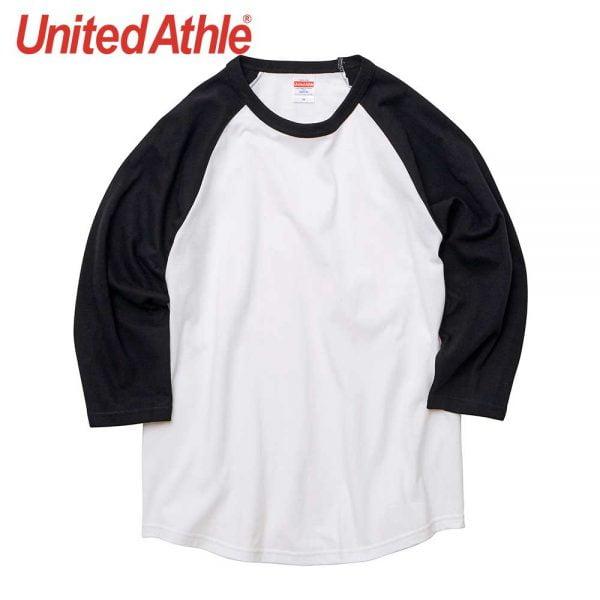 United Athle 5045-01 5.6oz 3/4 Sleeve Raglan T-Shirt