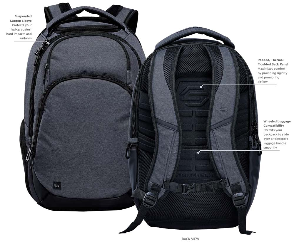 STORMTECH Madison Computer BackPack- BPX-5