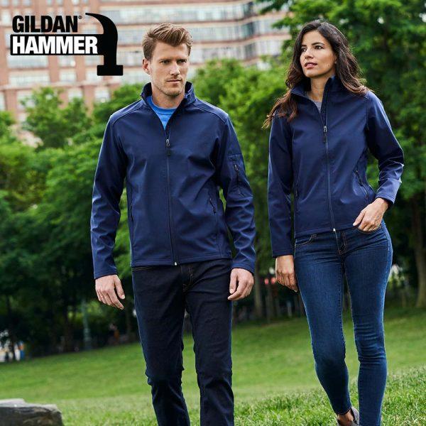 Gildan SS800 Hammer 8.8oz Unisex Softshell Jacket