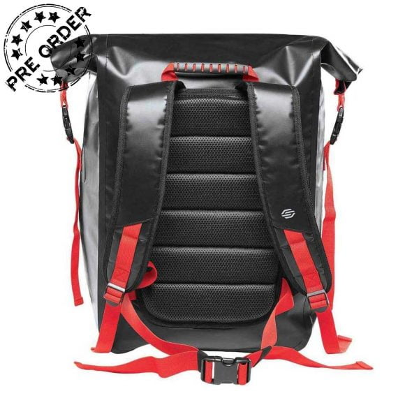 FCX 1 BLACK GRAPHITE BRIGHT RED BACK