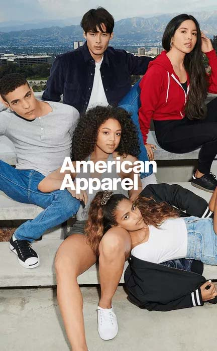 The Company completes the acquisition of the American Apparel® brand.