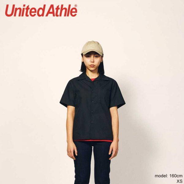 United Athle 1759-01 T/C Short Sleeve Pocket Shirt