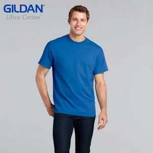Gildan 2000 Ultra Cotton 成人 T 恤 (美國尺碼)