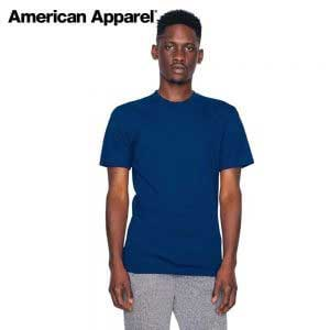 American Apparel 2001W Fine Jersey Crewneck T-Shirt (US Size)