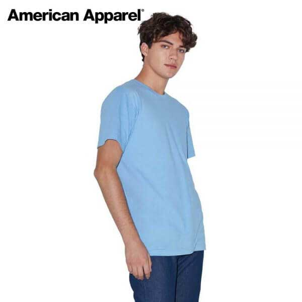 American Apparel 2001W 男裝 Fine Jersey T恤 (美國尺碼)