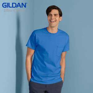 Gildan 2300 Ultra Cotton Adult Pocket T-Shirt (US Size)