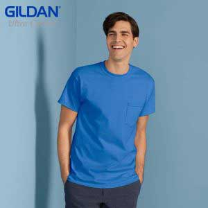 Gildan 2300 Ultra Cotton Adult Pocket T-Shirt (US Size)