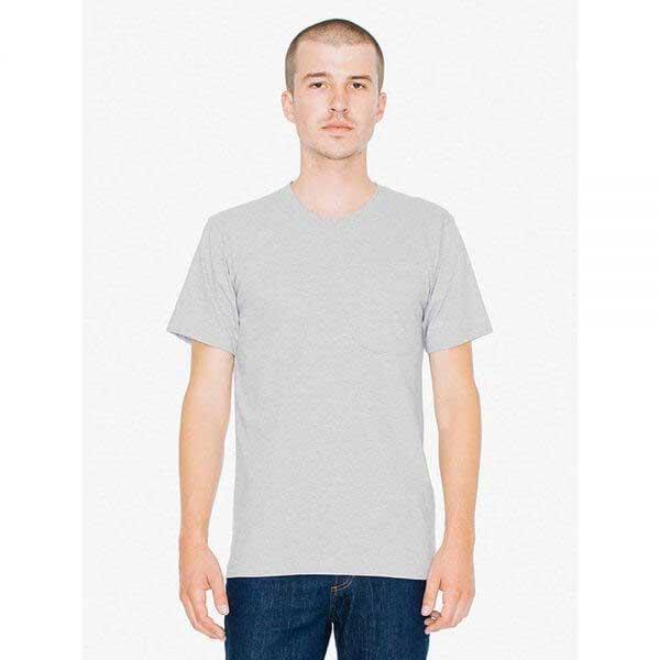 American Apparel 2406 Fine Jersey 男裝優質有袋 T恤 (美國尺碼)