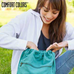 COMFORT COLORS 342 純棉後背帆布袋