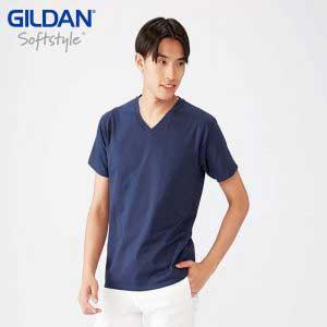 Gildan 63V00 SoftStyle 成人環紡 V 領 T 恤