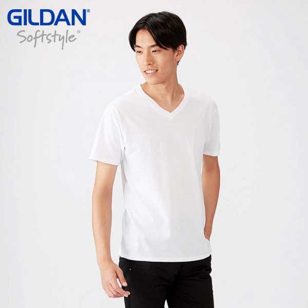 Gildan 63V00 SoftStyle 環紡 V領 T恤