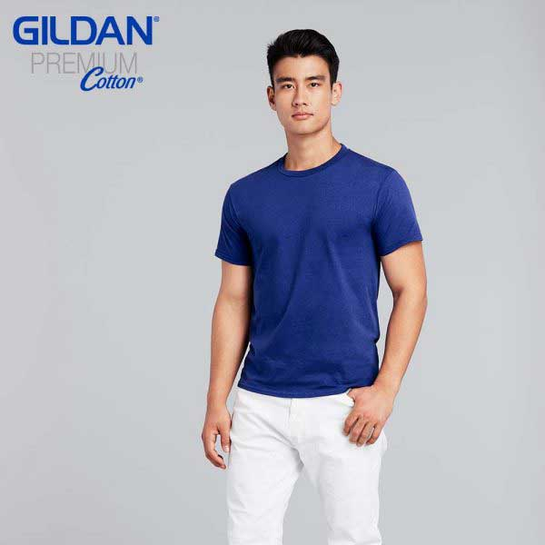 Gildan 76000 Premium Cotton 成人環紡圓筒 T恤