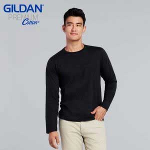 Gildan 76400 Premium Cotton 成人長袖 T 恤 (新版)