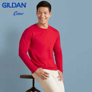 Gildan 76400 Premium Cotton 成人長袖 T 恤 (新版)