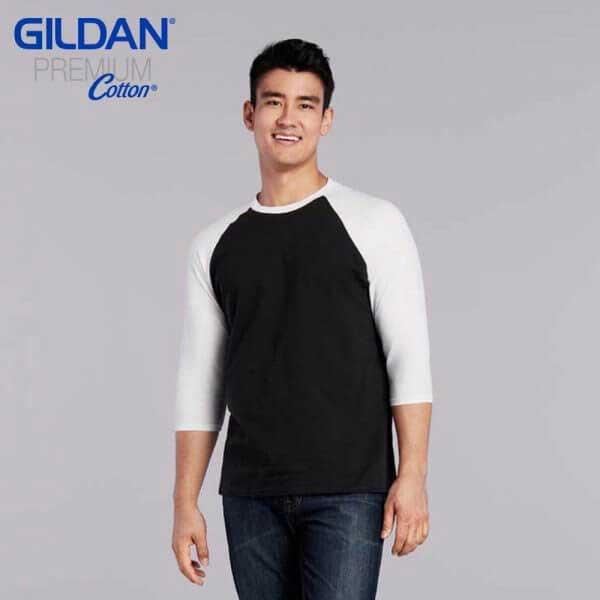 Gildan 76700 成人七分袖牛角袖 T恤