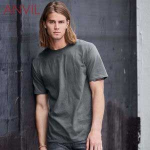 ANVIL 780 Adult Midweight Ring Spun T-Shirt (US Size)