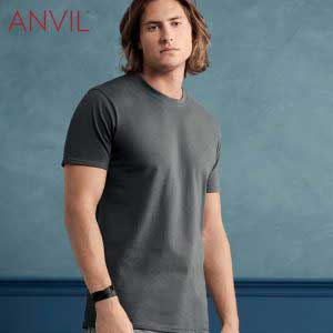 ANVIL 780 Adult Midweight Ring Spun T-Shirt (US Size)