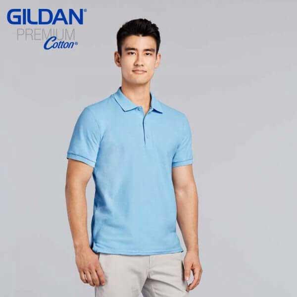 Gildan 83800 成人雙珠地 POLO 衫