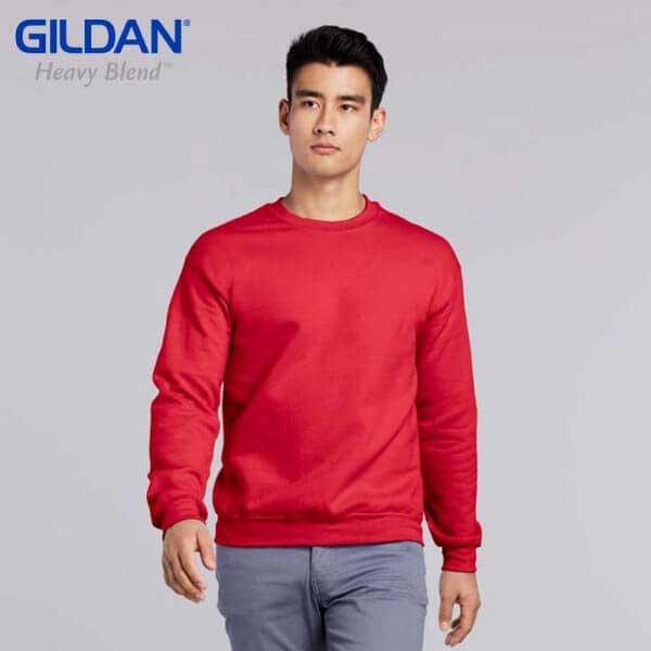 Gildan 88000 HEAVY BLEND 成人圓領衛衣