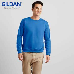 Gildan 88000 HEAVY BLEND Adult Crewneck Sweatshirt