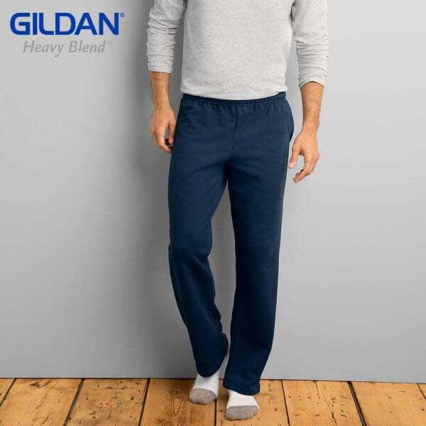 Gildan 88400 HEAVY BLEND 休閒口袋運動長褲