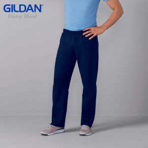 Gildan 88400 HEAVY BLEND Adult Open Bottom Sweatpants