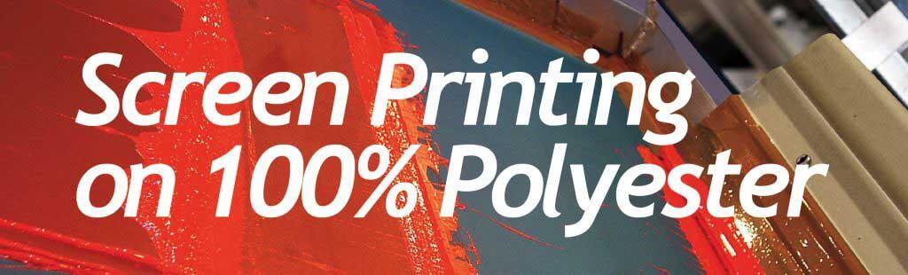 絲網印刷於100% 滌綸