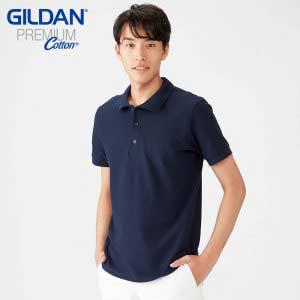 Gildan 6800 6.5oz Premium Cotton 成人雙珠地 POLO 衫