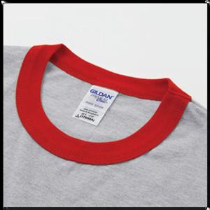 Gildan 76600 撞色領 T恤