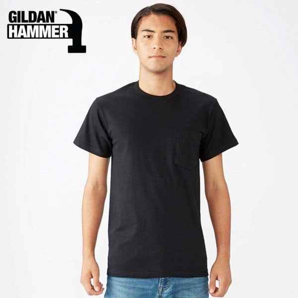 Gildan HA30 6.1oz Hammer 有袋全棉 T恤