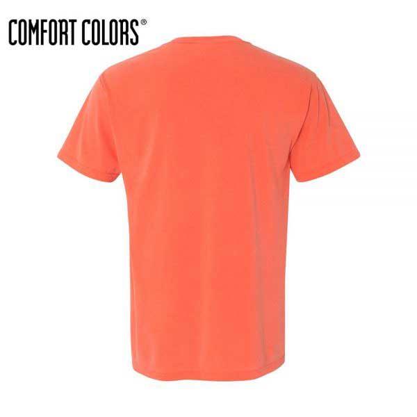 Comfort Colors 6030 Bright Salmon Back