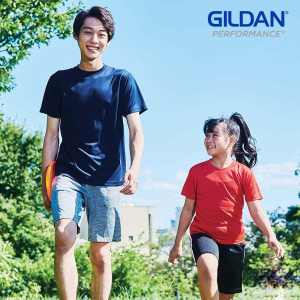 Gildan 4BI00B 4.6oz Performance 童裝快乾運動 T恤