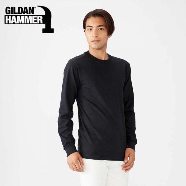 Gildan HA40 6.1oz Hammer Unisex 長袖全棉 T恤