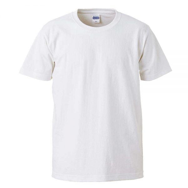 United Athle 4252-01 Heavy Weight Adult Cotton T-shirt 4252-01 White 001