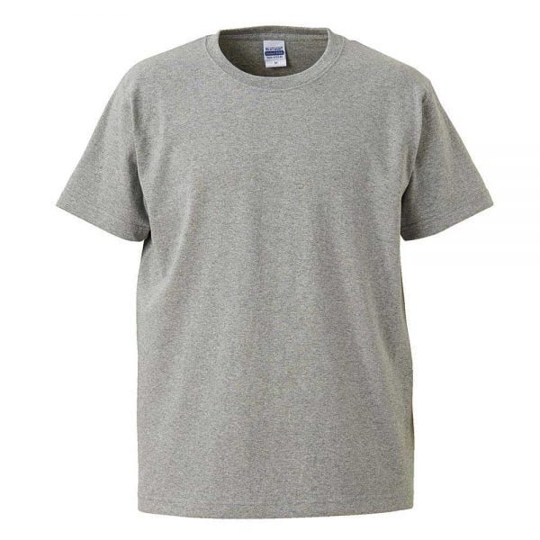 United Athle 4252-01 Heavy Weight Adult Cotton T-shirt 4252-01 Mix Grey 006